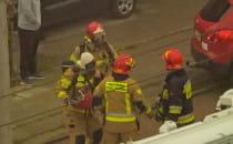 Pożar przy ul. Chylońskiej w Gdyni. Jedna...