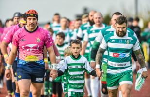 Rugby. Lechia Gdańsk - Ogniwo Sopot 16:22, Budowlani Lublin - Arka Gdynia 29:19