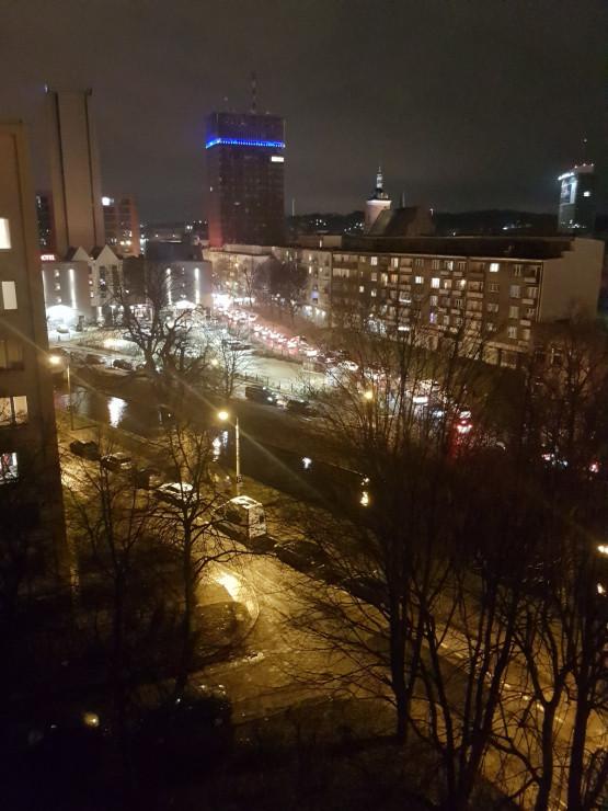 Duże korki po finale WOŚP w Gdańsku