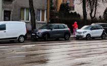 Gdynia, ul. Wielkopolska - wypadek