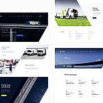 Projekt graficzny strony internetowej dla firmy Virtus Logistics