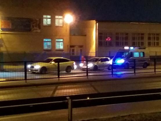 Stłuczka na ul. Hynka w Gdańsku