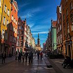 Ulica Długa w Gdańsku podczas wycieczki z Explore Gdansk