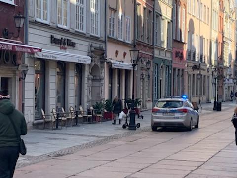 Interwencja policji w czynnym lokalu na Długiej