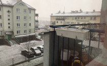 Zaczyna padać w okolicy Kokoszek, ale...