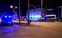 Służby kończą działania po wypadku w Sopocie