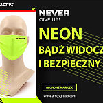 Maseczki na twarz - neonowe