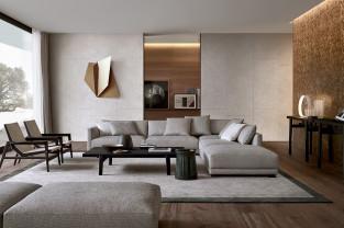 Fotel i lampa - czytelnicza wyspa w mieszkaniu