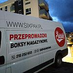 Przeprowadzki Gdańsk - rozładunek mebli