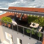 Przebudowa części dachu na taras w budynku mieszkalnym wielorodzinnym