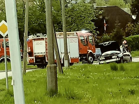 Kolizja na ul. Mostowej w Gdańsku