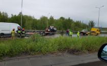 Wypadek, Sucharskiego za mostem wantowym w...
