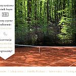 Korty tenisowe Leśnik Sopot - wynajem kortów, lekcje tenisa, szkółka tenisowa, serwis rakiet