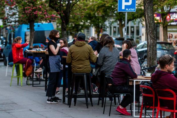 22.05.2020 Pierwszy weekend po otwarciu gastronomii w Gdyni