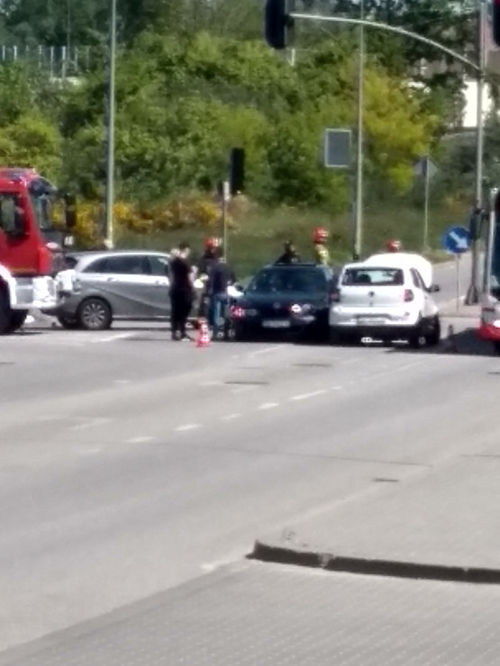 Wypadek na Kartuskiej na Karczemkach