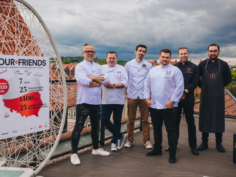 Wspólna akcja najlepszych szefów kuchni