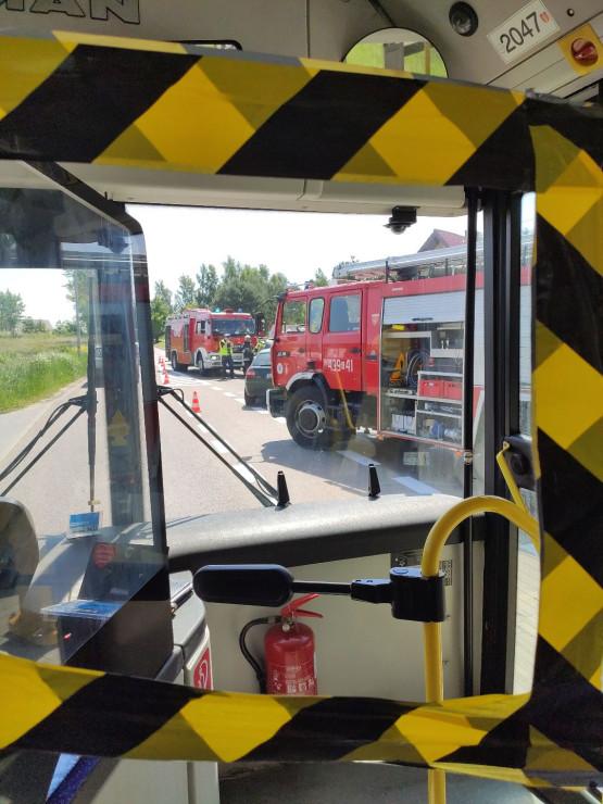 Wypadek na Wiczlińskiej w Gdyni