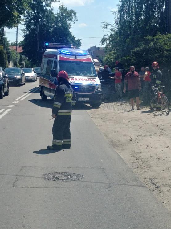 Wypadek na ul. Kielnieńskiej
