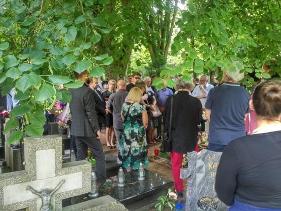 Przyjaciele upamiętnili Macieja Kosycarza