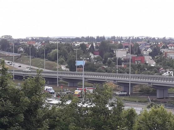 Wypadek na Chełmie w Gdańsku