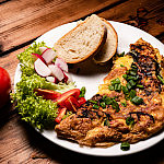Omlet w Bistro Neptun