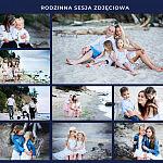 Rodzinne sesje zdjęciowe w plenerze jak i w studio