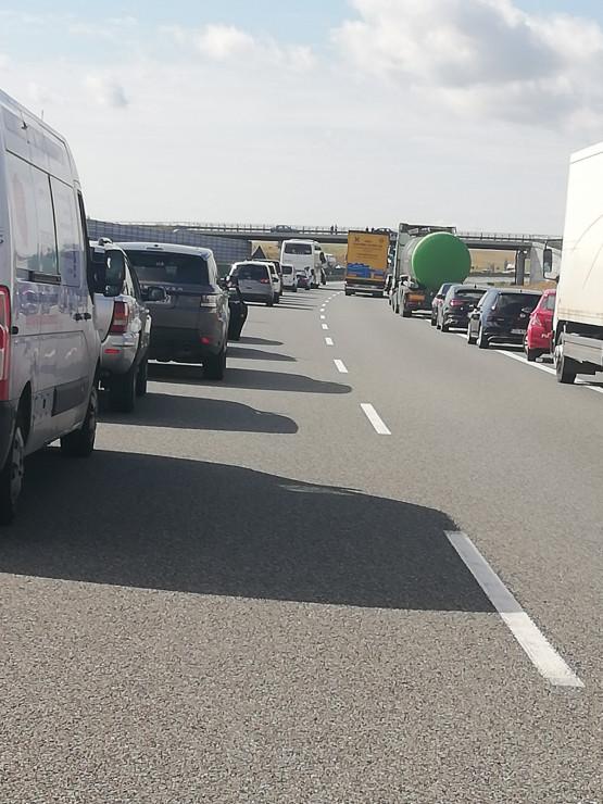 Utrudnienia na autostradzie A1