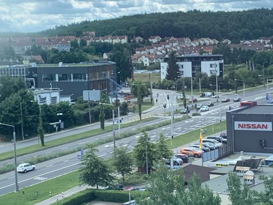 Zderzenie aut na Wielkopolskiej w Gdyni
