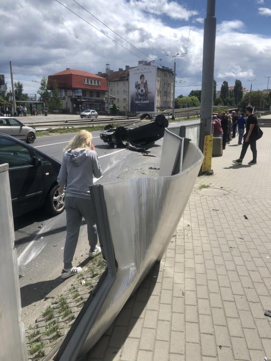 Dachowanie na ul. Morskiej w Gdyni