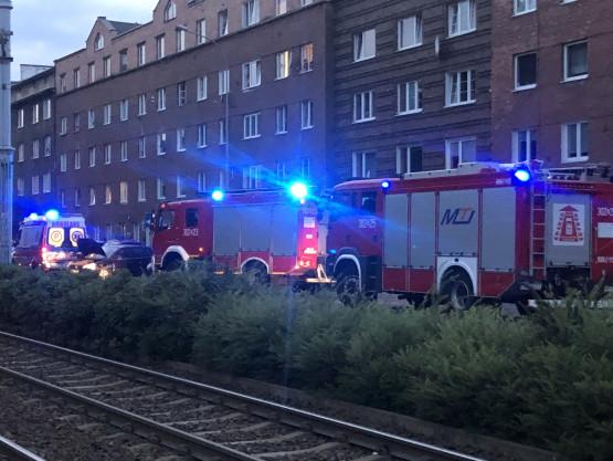 Wypadek na ul. Kartuskiej