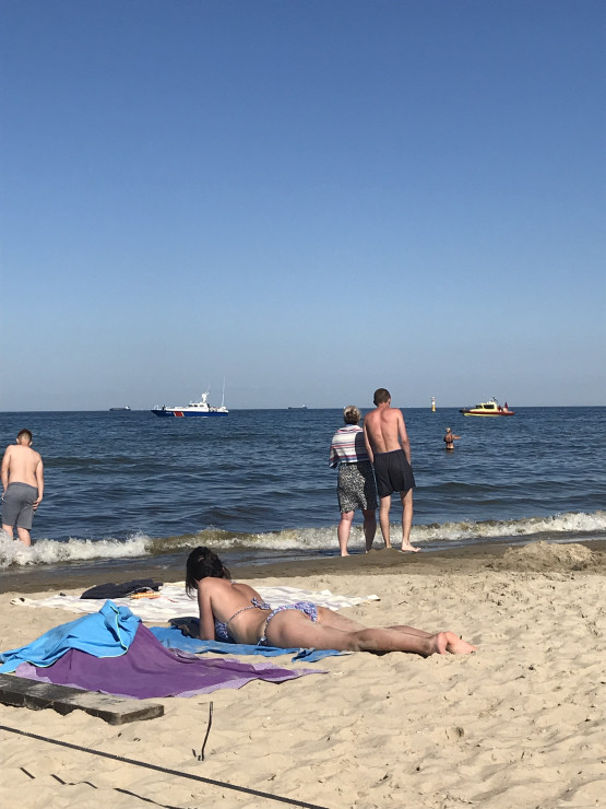 Poszukiwana dziewczynka na plaży w Sopocie