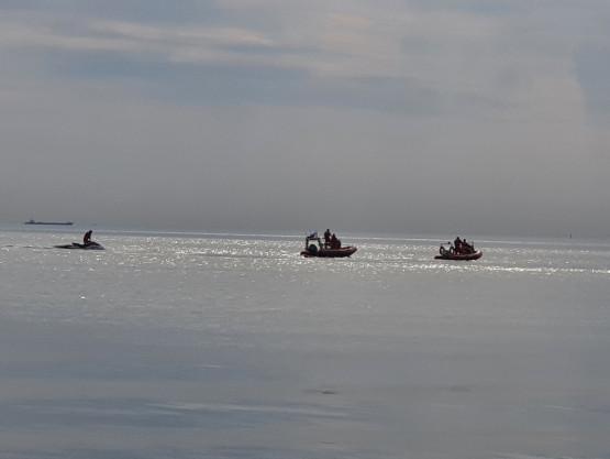 Trwa akcja poszukiwawcza na plaży w Sopocie