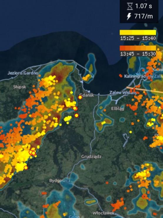 Burza zbliża się do Trójmiasta