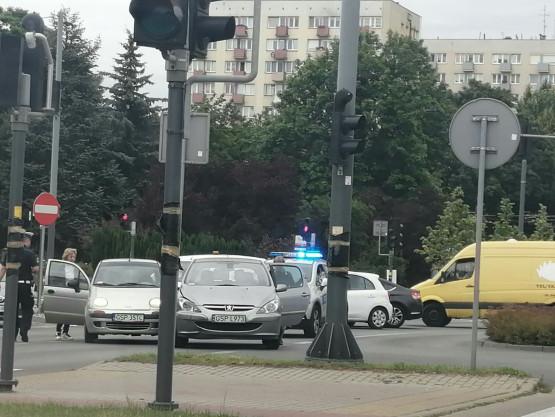 Kolizja w Sopocie na al. Niepodległości