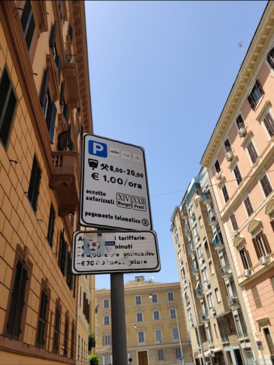 Parkowanie w centrum Rzymu jest tańsze niż w Gdańsku