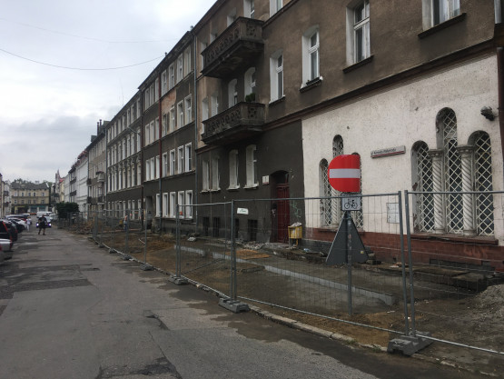 Ruszyła przebudowa ul. Konrada Wallenroda we Wrzeszczu