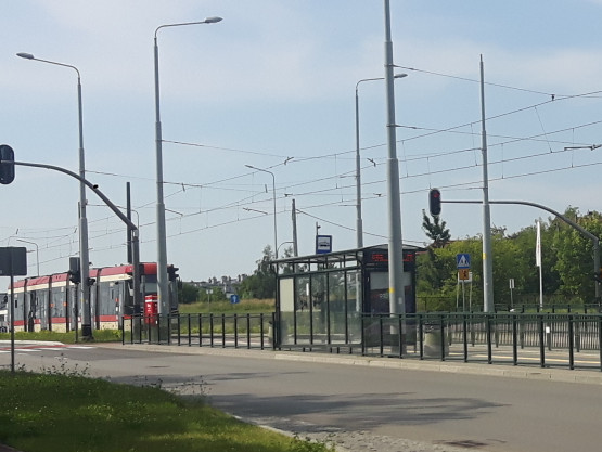 Awaria tramwaju linii 12 na Morenie