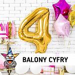 Balony foliowe CYFRY - Gdynia - SKLEP SZALONY.PL