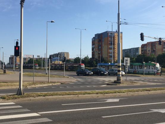 Awaria tramwaju na Chełmie