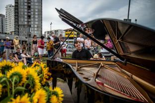 Fortepian na ulicy. Zaskakujący koncert na Morenie