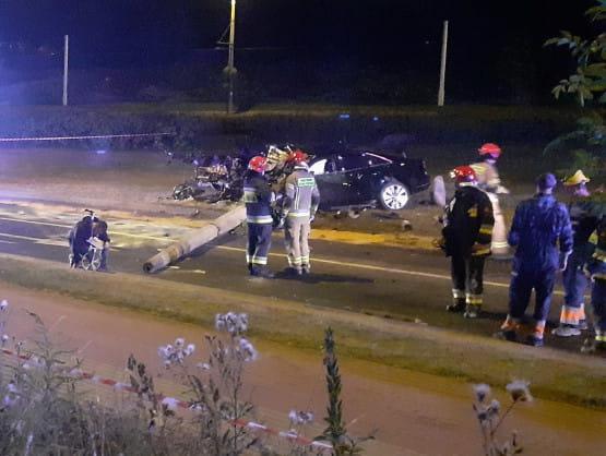 Wypadek w Gdyni, ul. Wielkopolska - skutki zdarzenia