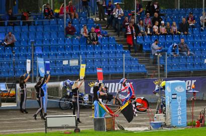 Zdunek Wybrzeże Gdańsk - e-Winner Apator Toruń 35:55. Lekcja od lidera