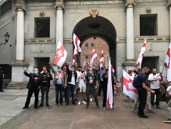 Marsz poparcia dla Białorusi w Gdańsku