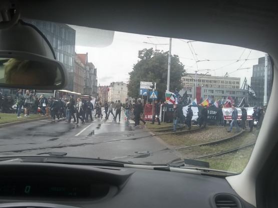 Kilku nacjonalistów i dwa razy tyle policji