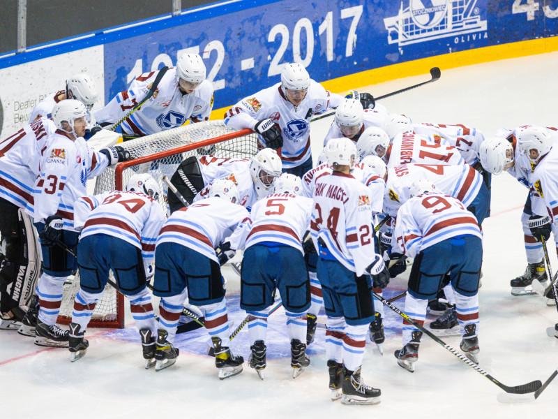 Stoczniowiec Gdańsk - JKH GKS Jastrzębie 1:2. Minimalna przegrana z liderem
