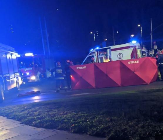 Poważny wypadek na skrzyżowaniu Traugutta z Traktem Konnym