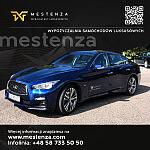 Infiniti reklama - Wypożyczalnia samochodów Mestenza Rafał Grzebin