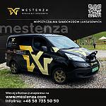 Elektryczny Nissan reklama - Wypożyczalnia samochodów Mestenza Rafał Grzebin