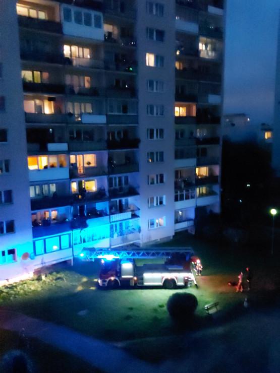 Interwencja strażaków i policji na Morenie