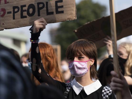 Młodzieżowy Strajk Klimatyczny odbył się w Gdańsku